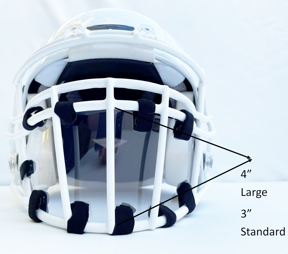 CAGEMASK How to Measure Football Mask