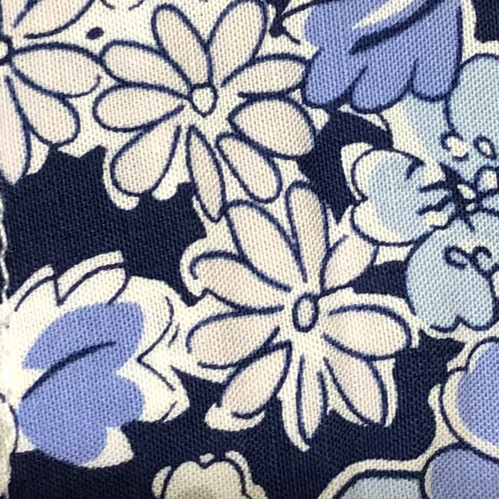 Small Blue Floral